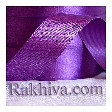 Satin ribbons - dark purple, 3 mm/ 20 m 176/(3/20/2395)