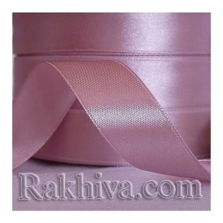 Satin ribbons - rose ashes, 3 mm/ 20 m190/(3/20/2349)