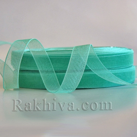 Woven ribbons Mint, 1 roll (10 mm/ 50 Y) (10/50/2260-2)