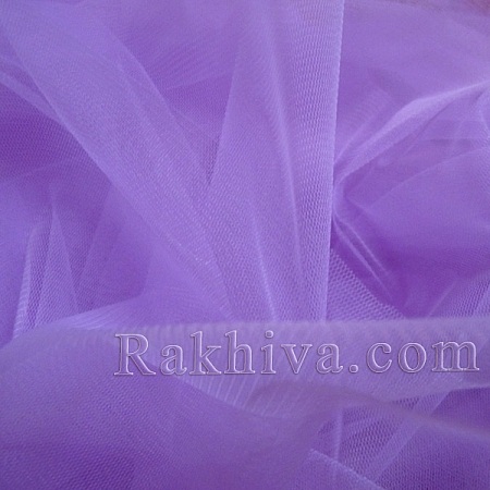Italian tulle purple, purple 1 m (3 m2) 86/90