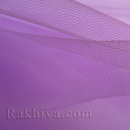 Italian tulle lilac, lilac 1m (3 m2) 86/91