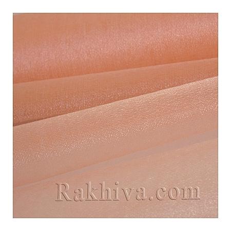 Organza rolls Peach, 36сm/ 10 Y, peach (36/10/3648)