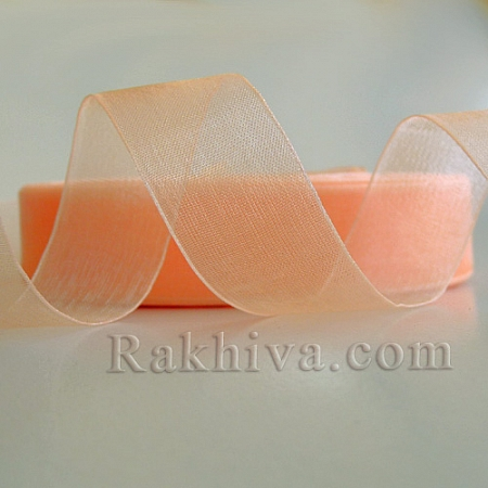 Woven ribbons, (10 mm/ 50Y) peach  (10/50/2248)