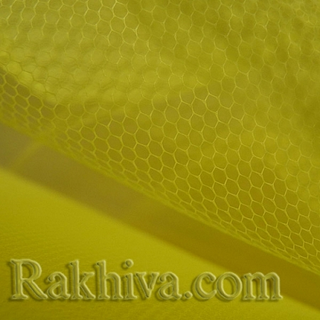 Tulle wedding - yellow, yellow (84/70) (1 m)