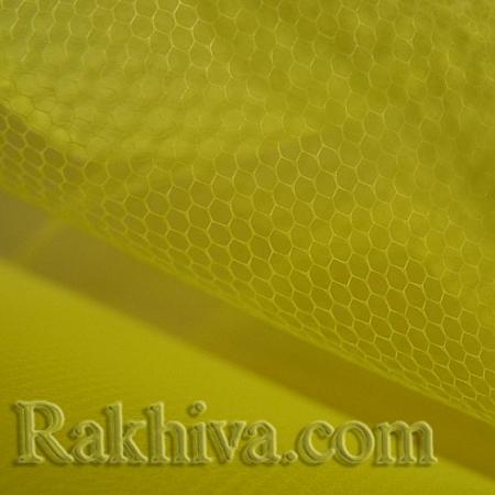 Tulle wedding - yellow, yellow (84/70) (1 m)