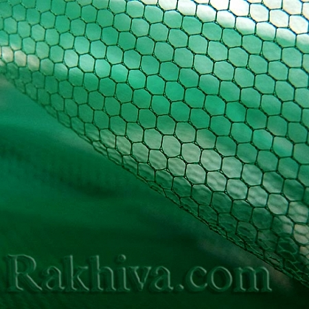 Tulle wedding - green, dark green (84/65) (1 m)