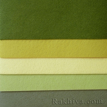 Felt, 6/ (315) dark green - hard felt