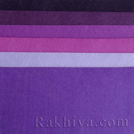 Felt, 4/ (240) dark purple - hard felt