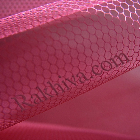 Tulle wedding - dark hot pink, dark hot pink  (84/46) (1 m)