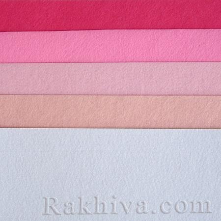 Felt, 2/ (301) pink - hard felt