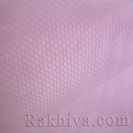 Tulle wedding - pink, pink (84/40) (1 m)