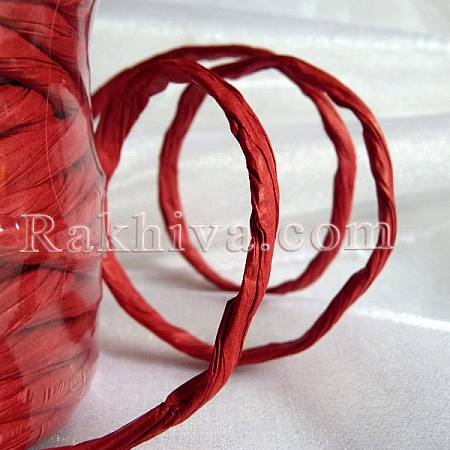 Paper rope  Twist , red, 25m(11/25/6380)