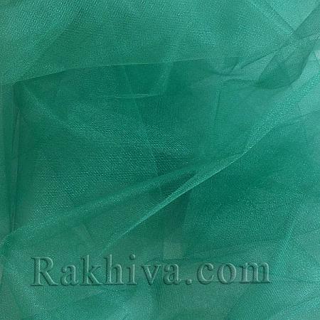 Crystal tulle - dark green, dark green 1 m (3 m2) 85/65