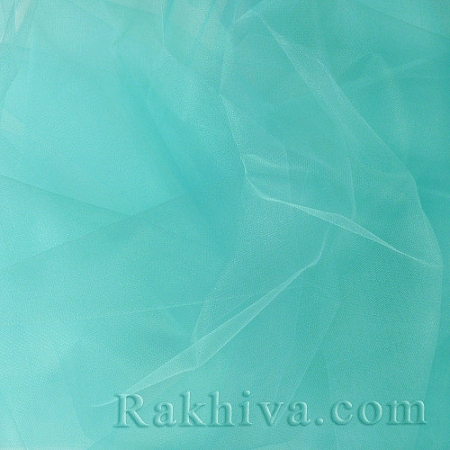 Crystal tulle - mint, mint 1 m (3 m2) 85/60-1