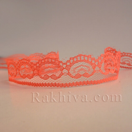 Lace Viennese, coral (20/10/5002-1/47-1)