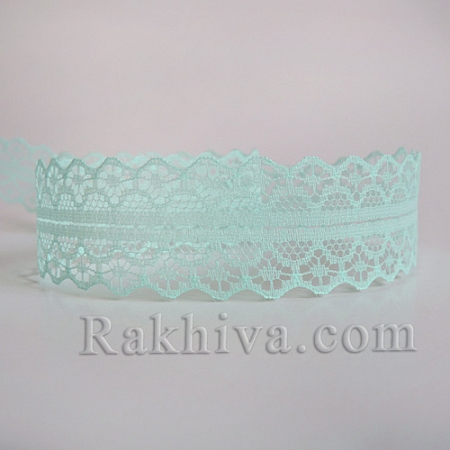 Lace Rome, 30mm/9m, lt. green (30/10/1658-2/67-1)