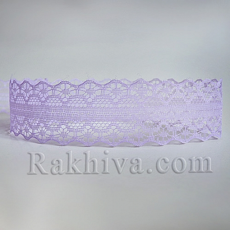 Lace Rome, 30mm/9m, lt. purple (30/10/1658-2/90)