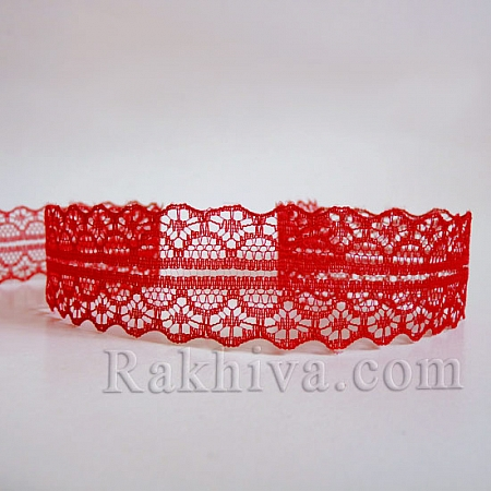 Lace Rome, 30mm/9m, red (30/10/1658-2/80)