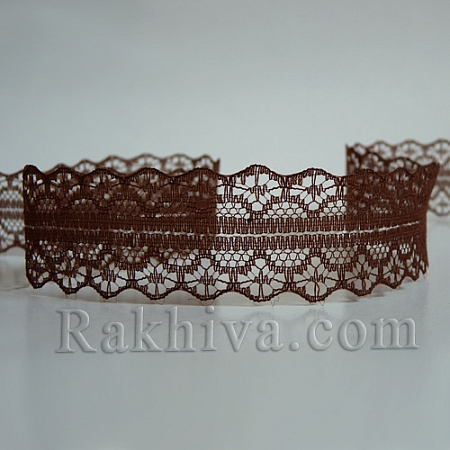 Lace Rome, 30mm/9m,brown  (30/10/1658-2/34)