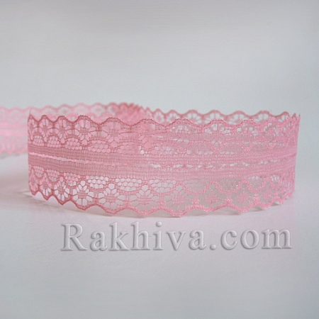 Lace Rome, 30mm/9m, pink (30/10/1658-2/47)