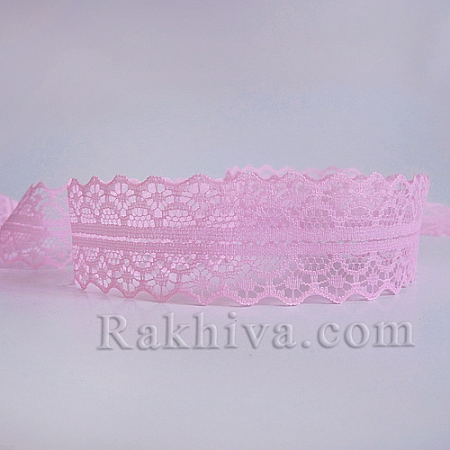 Lace Rome, 30mm/9m, dark pink (30/10/1658-2/43)