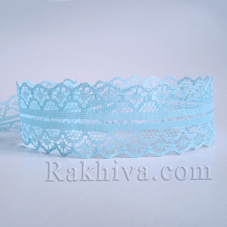 Lace Rome, 30mm/9m lt. blue (30/10/1658-2/52)