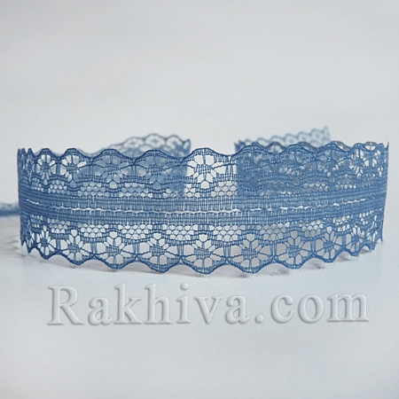 Lace Rome, 30mm/9m blue (30/10/1658-2/56)