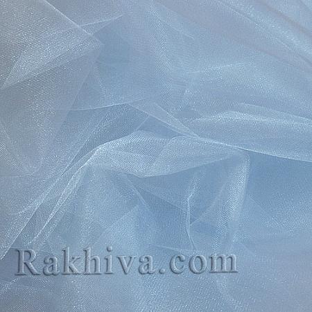 Crystal tulle sky blue, sky blue 1m (3 m2) 85/52
