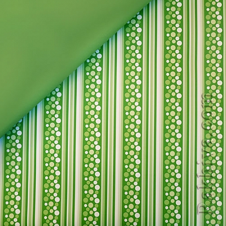 OPP wrapping paper (bicoloured), limegreen (70/100/201961)