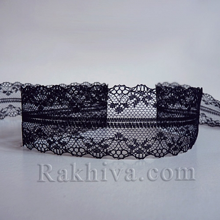 Lace Venice, 40mm/9m, black (40/10/325-2/20)