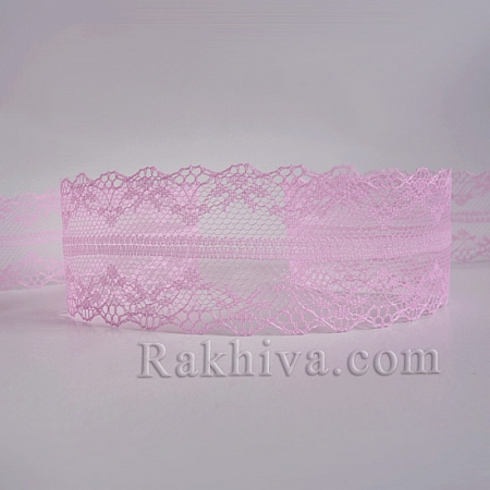 Lace Venice, 40mm/9m, dark pink (40/10/325-2/43)