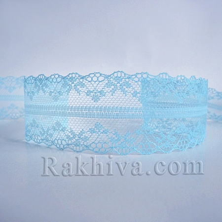 Lace Venice, 40mm/9m, lt. blue (40/10/325-2/51)
