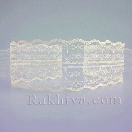 Lace Romance, 50mm/9m, ecru (50/10/133-2/13)