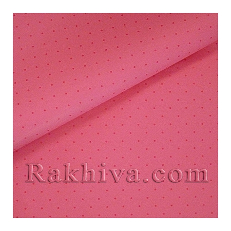 OPP wrapping paper (bicoloured), pink/hot pink (70/100/151145)