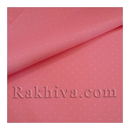 OPP wrapping paper (bicoloured), pink/ white (70/100/151140)