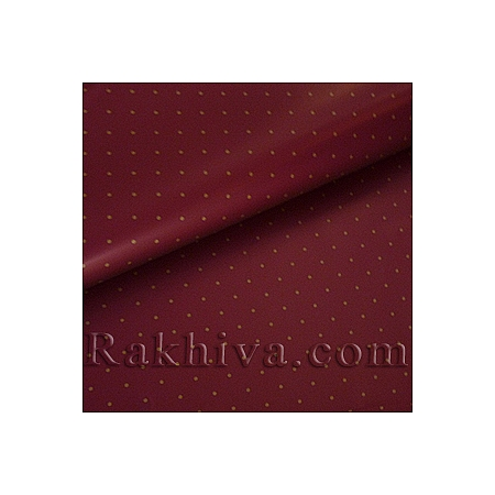 OPP wrapping paper (bicoloured), burgundy (70/100/151186)