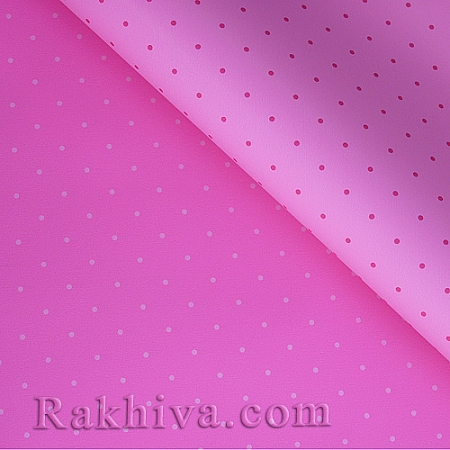OPP wrapping paper (bicoloured), lt. pink/ dark pink  (70/100/151140-41)