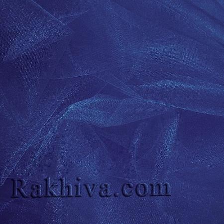 Crystal tulle dark blue, dark blue 1m (3 m2) 85/51