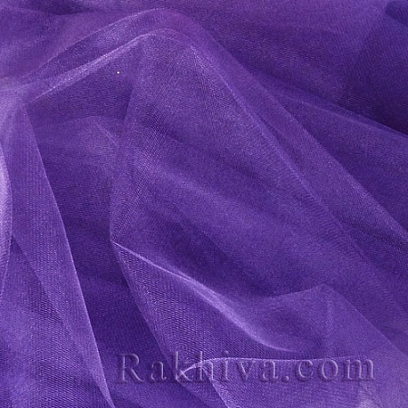 Crystal tulle violet, 1 big roll (150 m2) violet (85/95)