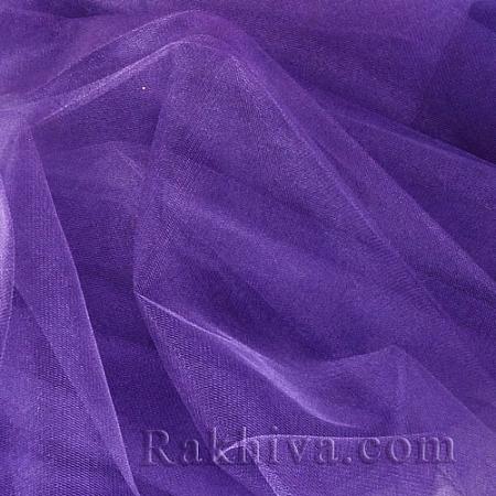 Crystal tulle violet, 1 big roll (150 m2) violet (85/95)