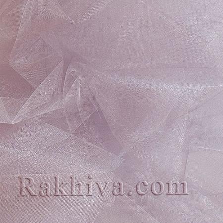 Crystal tulle vintage rose, vintage rose 1 m (3 m2) 85/44
