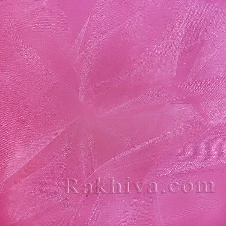 Crystal tulle dark pink, dark pink 1m (3 m2) 85/42