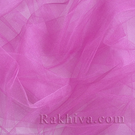 Crystal tulle hot pink, dark hot pink 1m (3 m2) 85/46