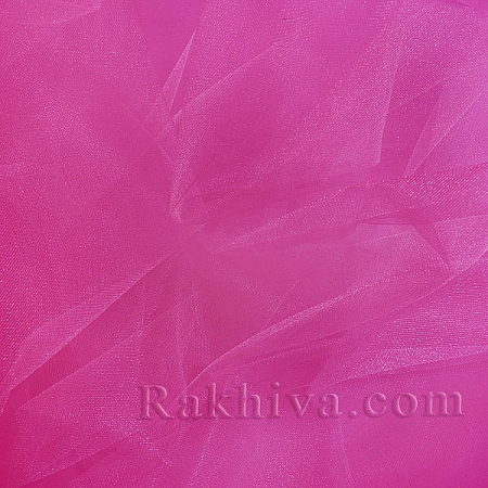 Crystal tulle hot pink, hot pink 1m (3 m2) 85/45