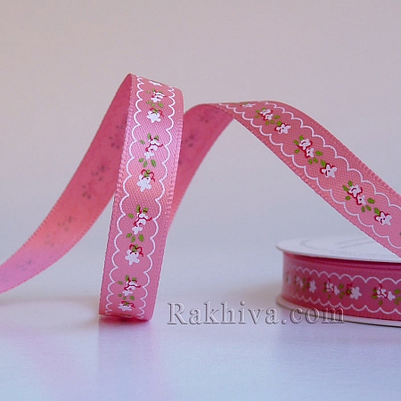 Double satin, 9mm/10m, pink (9/10/A16/210)