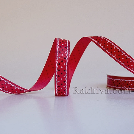 Double satin, 9mm/10m, red (9/10/A2/252)
