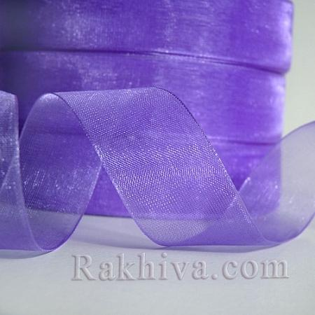 Organza ribbons Purple, 1 roll purple (6mm/ 20 m)  (6/20/2290)