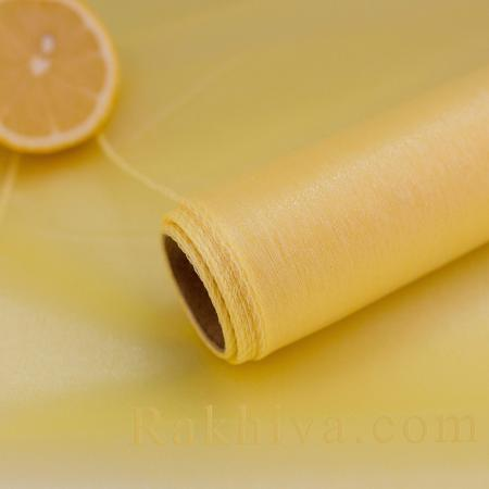 Organza rolls  Gold yellow, 47 сm/ 10 Y gold yellow (49/10/3671)
