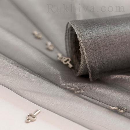 Organza rolls Silver, 47 cm/ 10 Y ,  (49/10/36300)