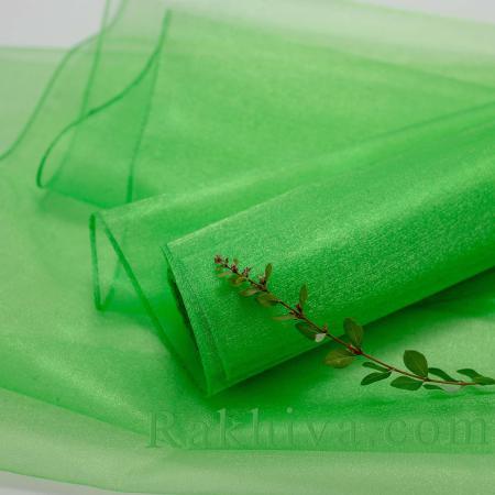 Organza rolls Green, 47 cm/ 10 Y,  (49/10/3660)